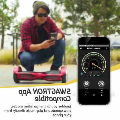 Swagtron T3 Hoverboard SelfBalancing Scooter Bluetooth