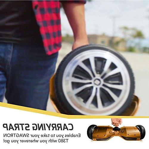 Swagtron Hoverboard - Bluetooth Personalize Experience w/Android/iOS