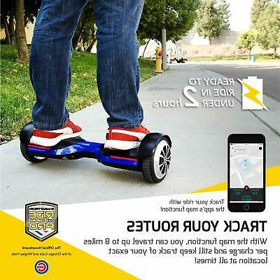 Swagtron T580 App Bluetooth Hoverboard Self Balancing Wheel Speaker