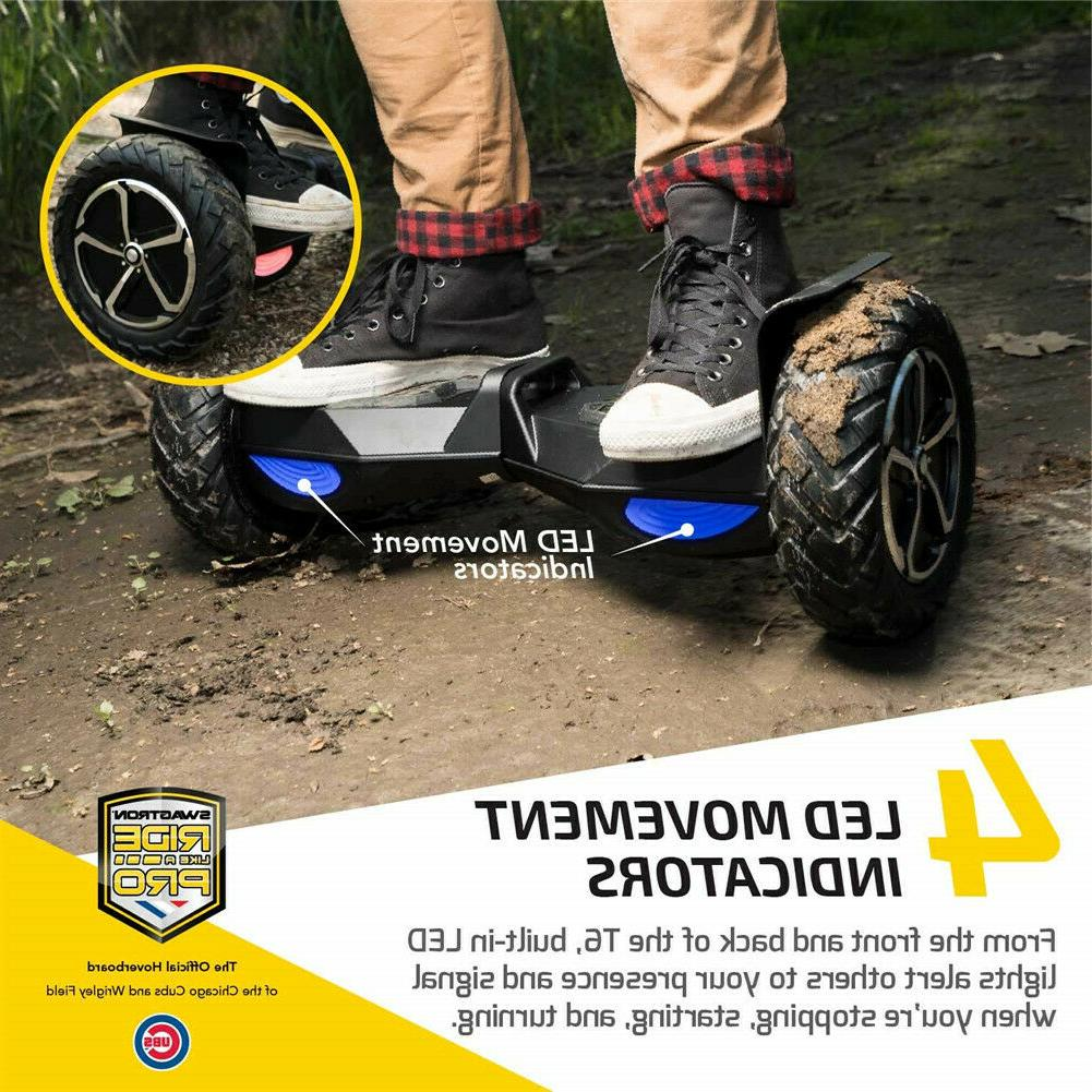SWAGTRON T6 Off-Road Motorized Electric Hoverboard