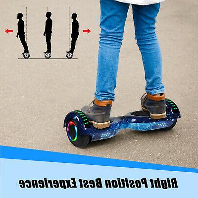 """UL2272 6.5"""" Electric Hoverboard Smart Self Scooter"""