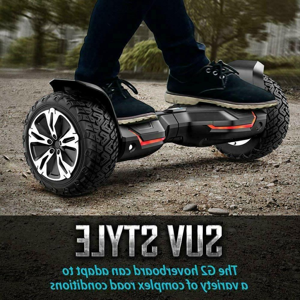 Gyroor Warrior Hoverboard Scooter Self Scooter Blue NIB