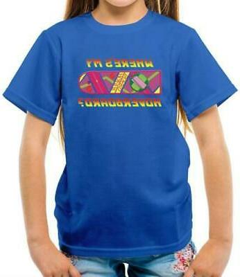 Where's my Kids T-Shirt - Back To - Fan