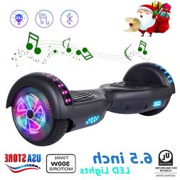 "nht 6.5"" LED Flashing Wheel Hoverboard Electric Scooter Blue"