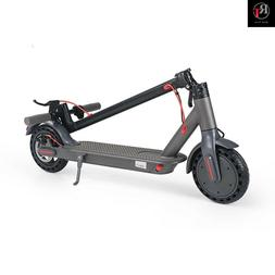 PORTABLE ELECTRIC SCOOTER 500W 8.5INCH TWO WHEEL FOLDABLE SC
