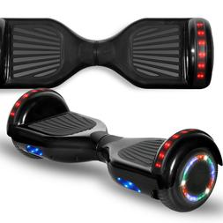 """Rechargeable 6.5"""" Kids Balancing Scooter w/LED and Wireless"""