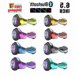 6.5'' Hoover boards LED STAR FLASHING WHEELS Scooter UL 2272