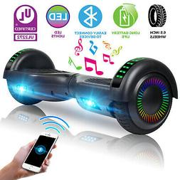 Self Balance Scooter Hoverboard UL w/ Bluetooth Speaker/LED