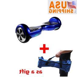 Blue Mini Smart Electric Scooter 2 Wheels Unicycle Self bala